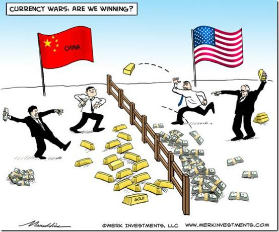 china US currency wars
